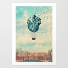 The Unforgettable Love Journey Art Print