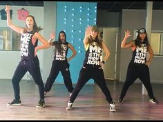 """Dance fitness choreography """"Bruno Mars"""" Uptown Funk """"Mark Ronson"""" - love all the hip movement in the chorus! Zumba Fitness, Dance Fitness, Fitness Diet, Fitness Motivation, Fitness Fun, Fitness Workouts, Zumba Videos, Dance Videos, Workout Videos"""
