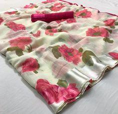3 Color Beautiful saree Gifted saree/Soft Linen Silk Saree With Unstitch Blouse/ indian saree/ Party Wear Saree