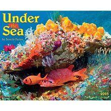 Under the Sea 2015 Wall Calendar