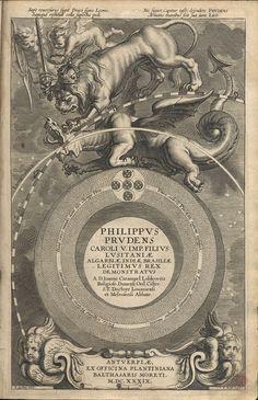 CARAMUEL LOBKOWITZ, Juan, O. Cist. 1606-1682, Philippus prudens Caroli V. Imp. Filius Lusitaniae Algarbiae, Indiae, Brasiliae legitimus rex ...