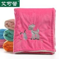 Product category: super soft velvet blanket Weight: 480 Applicable objects: 0-3, children, infants,