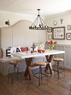 Inspiración Comedores Booth Dining Tablebooth