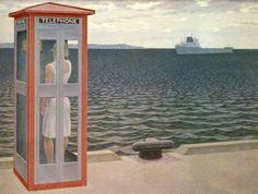 Departure, 1962. Alex Colville.