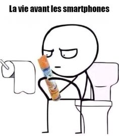 La vie avant les smartphones
