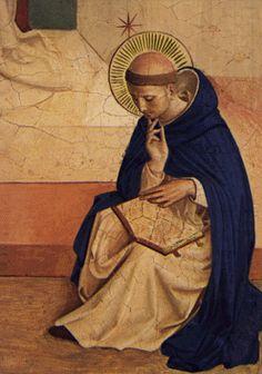 św. Dominik w kontemplacji - Fra Angelico #fra angelico #dominik