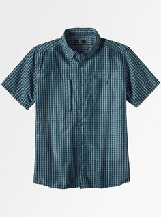 Casual half sleeves checked shirt that gives you that extra edge in summers