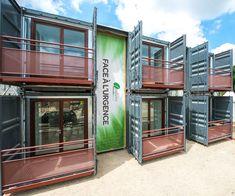 Homeblok · La construction modulaire container