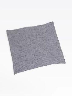 bandana alix noir en crépon vichy | agnès b. Bandana, Bed Pillows, Pillow Cases, Gingham, Black People, Accessories, Bandanas, Pillows