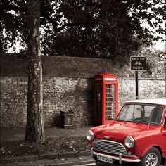 Phone Box MINI Cooper
