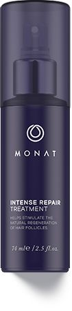 Intense Repair Treatment 65$. Decreases DHT hormone that thins hair. Improves follicle strength, reduces inflammation, penetrates deeper, nurtures the scalp, and increases the tissue rebuilding cycles important to hair anchoring, while helping to improve growth, adding thickness and improving overall strength. Monat Hair products.