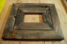 How to make a reclaimed wood picture frame