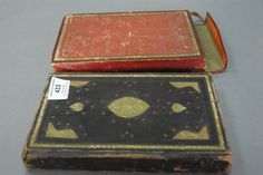 Persian Illuminated Manuscript 17th-18th century in leather binding with three hand painted plates, all writing bordered in gold, from the Lowell Palmer Library. - Realized Price: $6,000.00