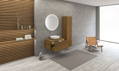 Bathtubs, wash basins, cabinets and accessories in matt white solid surface. Beautiful wood cabinets matching the matt white solid surface Bath Cabinets, Bergen, Copenhagen, Vanity, Room, Furniture, Home Decor, Bathroom Vanity Cabinets, Dressing Tables