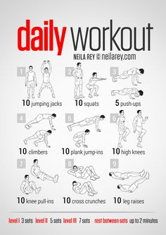 Easy Daily Workout - for starting out, and every lazy day that comes up after.