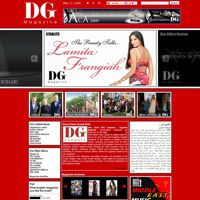 Dear Guest (DG) Company successfully released its Business & Life Style magazine in 2002 which have clearly & rapidly found its way to be one of Egypt's best English magazines in the market. www.dearguest.com  2009 design