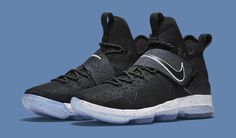 c2d2467f2e0 Nike LeBron 14  Black Ice  releasing on Jan. here s a detailed look.