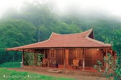 Cottage resort in the forest in Wayanad, Kerala