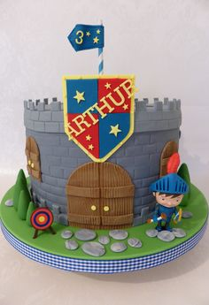 Mike the Knight cake   https://www.facebook.com/CakeDesignsByDeborah