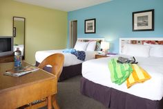 Village room, 2 double beds