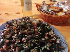 """""""Percebes"""" (Goose barnacles) are a real delicacy in #Portugal!"""
