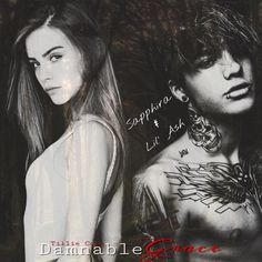 Lil' Ash and Sapphira from Damnable Grace by Tillie Cole