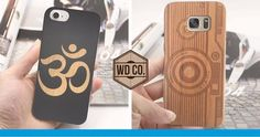 Fundas de madera para iphone y samsung