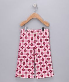 Take a look at this Heart & Flower Organic Pants - Infant, Toddler & Girls by Kiwi Industries on #zulily today!