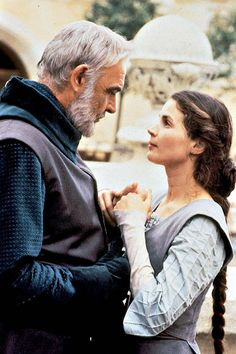 """Sean Connery & Julia Ormond in """"First Knight"""""""