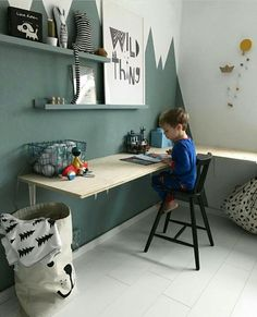 DIY desk for your kid