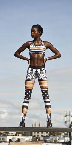 Wild prints: Nike Safari Tight of the Moment. #tights #leggings #nike #limitededition