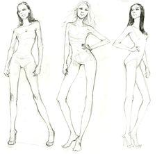fashion illustration - Buscar con Google                              …