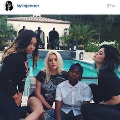 @kyliejenner: we were wildin #tbt i miss this :(