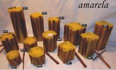 Linha de velas Canela ref: 5691 - R$9.90