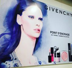 Givenchy Spring 2017 Point D'Encrage Collection and New Rouge Interdit