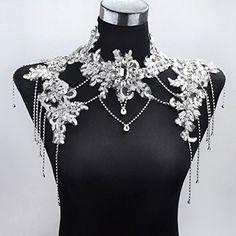 Sunshinesmile® Bride Wedding Crystal Rhinestone Tassel Lace Shoulder Chain Strap, http://www.amazon.com/dp/B015LYKT6E/ref=cm_sw_r_pi_awdm_XnYbwb11ASFH4