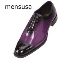 Shop purple and black shoes from mensusa.com with free shipping around USA with wide range of latest collection of shoes for men.