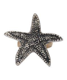 Loving this Starfish Napkin Ring - Set of Six on #zulily! #zulilyfinds ($17)