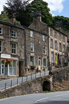 Typical West Yorkshire, Holmfirth, England, UK - Where  the TV series 'Last of the Summer Wine' was filmed.