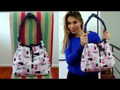 Costura da bolsa 4 em 1 | ModaByNill - YouTube