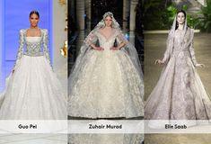 Vai se casar e está a procura de um vestido tradicional? Os desfiles de alta-costura acabaram de apresentar suas opções de noivas clássicas ou ava...