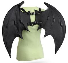 Handmade Leather Wings with Harness