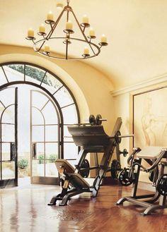 Fitness room w/ terrace