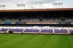 Stade Constant Vanden Stock, Bruselas, Bélgica. Capacidad 28 063 espectadores, Equipo local RSC Anderlecht.