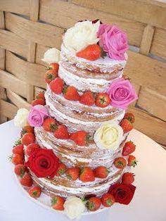 Naked Wedding Cakes By Karen