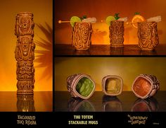 New Disneyland Stackable TIKI TOTEM MUG | Via: Miehana (Kevin Kidney)