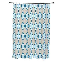 E By Design Diamond Shower Curtain | AllModern