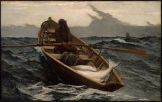 Winslow Homer (American, 1836–1910) The Fog Warning 1885 Oil on canvas, 76.83 x 123.19 cm