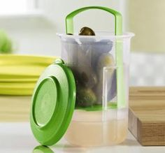The best storage for olives and maraschino cherries.   Tupperware | Round Pick-A-Deli(r) Mini Container