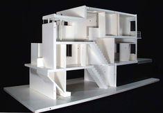 Weissenhofsiedlung: model J.J.P. Oud, 1927. NAI Collection, MAQV 153